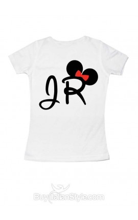 "Personalized Girl's T-Shirt ""Jr"""