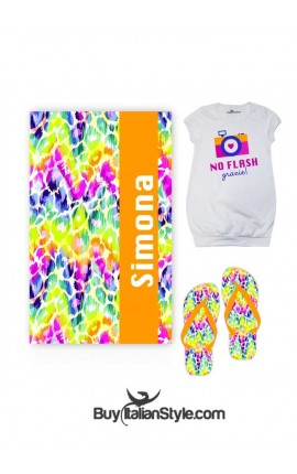 Girl Summer 3 Pieces KIT Animalier