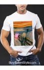 "T-shirt uomo mezza manica ""Salvateci da Peppa, please"""