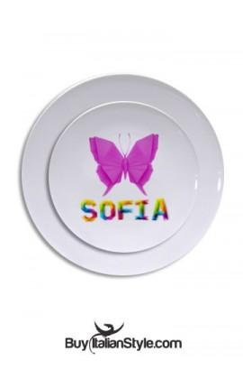 Customizable plastic plate...