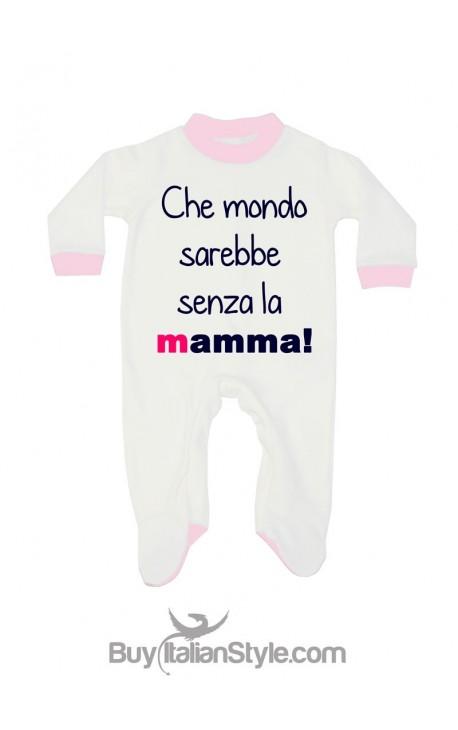 """Tutina neonato estivoinvernale """"Che mondo sarebbe senza la mamma"""""""
