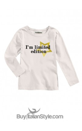 "T-shirt bimba ""I'm limited edition"""