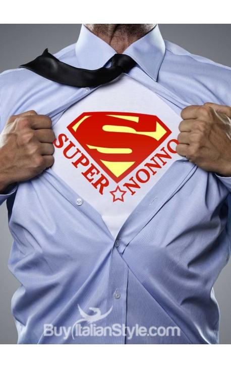 """T-shirt uomo mezza manica """"SuperNonno"""""""