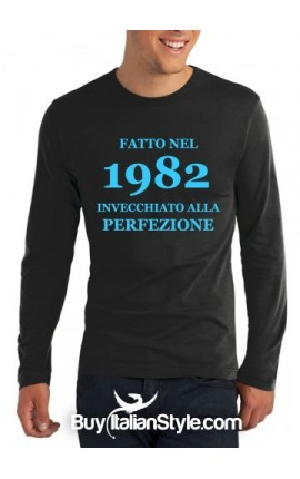 """T-shirt uomo """"INVECCHIATO ALLA PERFEZIONE"""""""
