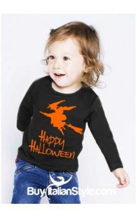 """Maglia bimbo/a """"Happy Halloween"""""""
