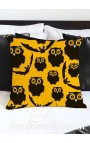 "Pillowcase ""Owls and Bats"""