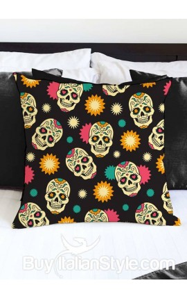 "Pillowcase ""Tattoo Skull"""