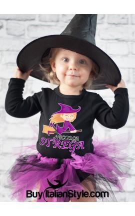 maglietta a tema halloween piccol astrega