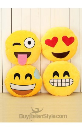 Wiggle and tongue Emoticon Cushion