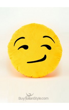 Cuscino Emoticon Soddisfatto