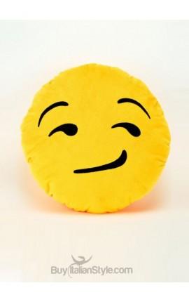 Satisfied Emoticon cushion