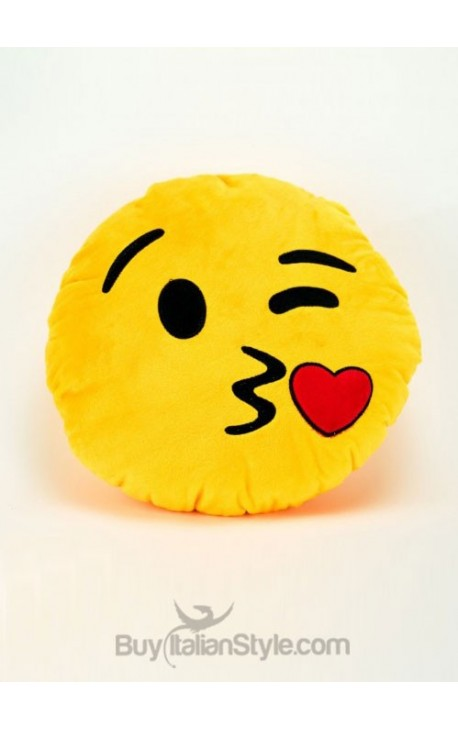 Cuscini Emoticon.Cuscino Emoticon Bacio