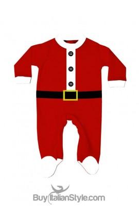 Newborn all in one Santa Claus