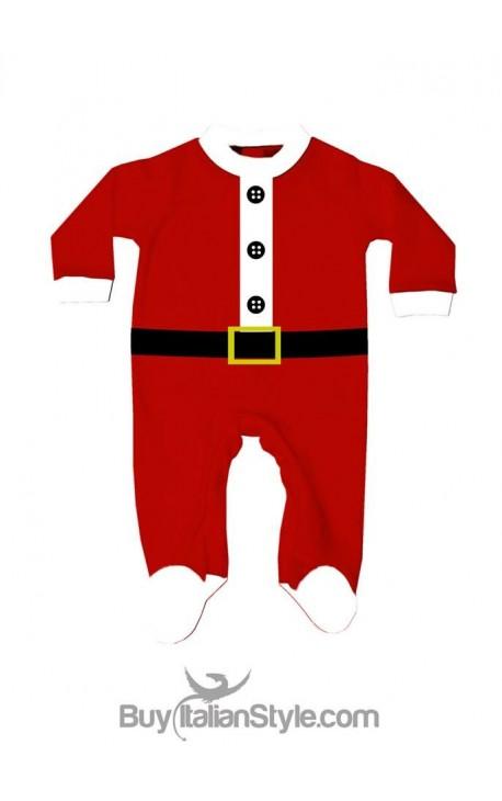 Tutina neonato Babbo Natale