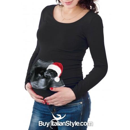 Maternity T Shirt Christmas Ultrasound