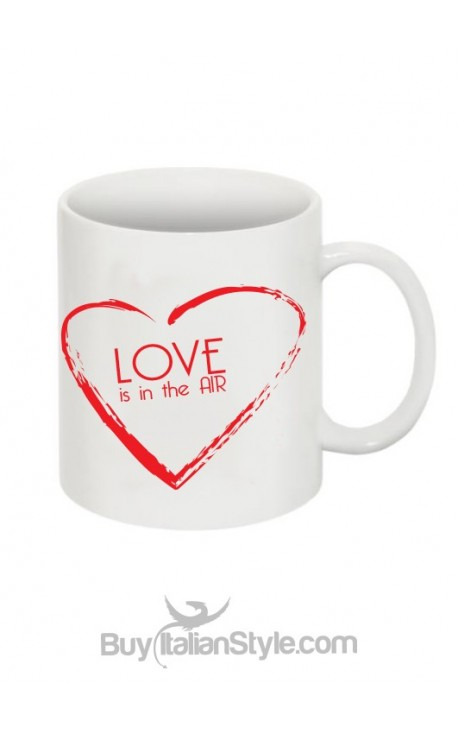 "Coffee Mug ""Love is in the air"""