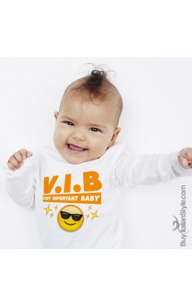 "Body neonato ""V.I.B. very important baby"""