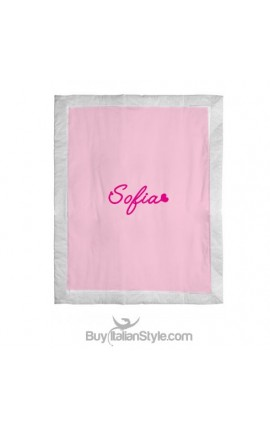 Summer blanket, customizable with name