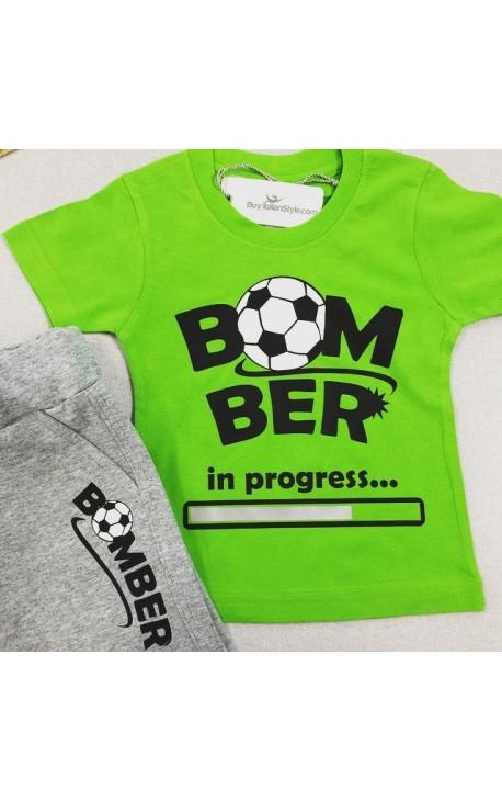 """Completo bimbo """"Bomber in progress"""""""