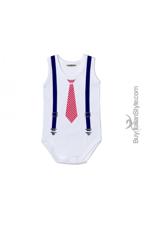 Body cravatta e bretelle