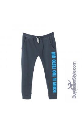 Pantaloni tuta personalizzabili con testo invernali