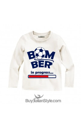 "T-shirt MANICA LUNGA ""Bomber in progress"""