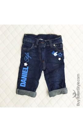 Jeans bimbo personalizzabile con nome