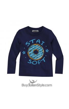 "T-shirt manica lunga ""Stai soft"""
