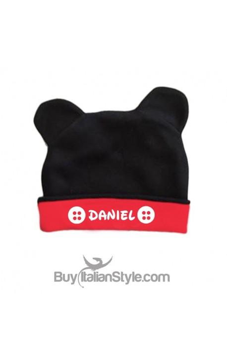 Cappellino topino personalizzabile