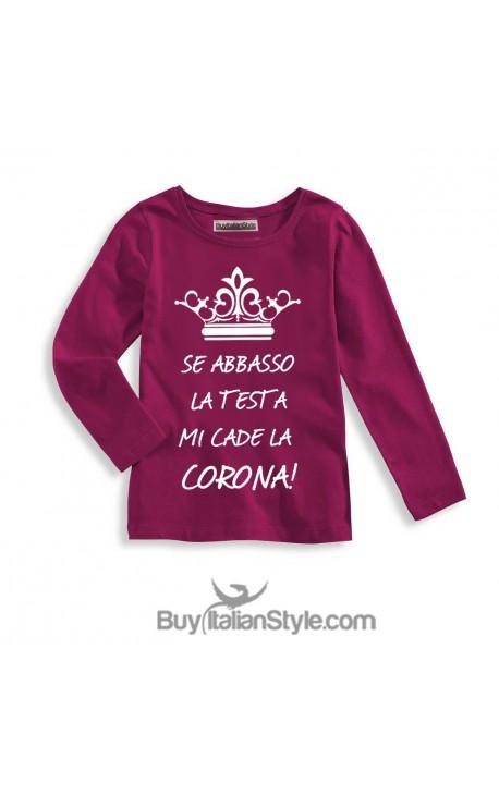 T-shirt bimba corona