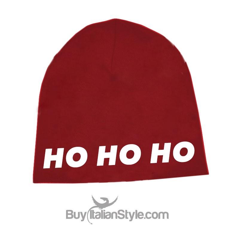 Babbo Natale Ho Ho Ho.Cappellino Frigio Ho Ho Ho