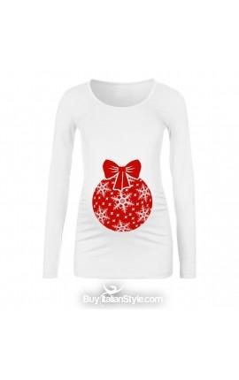 T-shirt premaman Palla NATALE