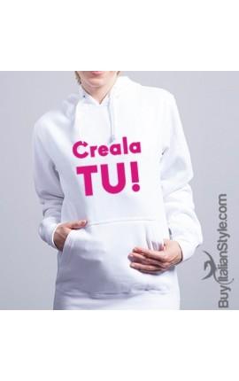 "Custom Unisex Hoodie ""Text & Photo"""
