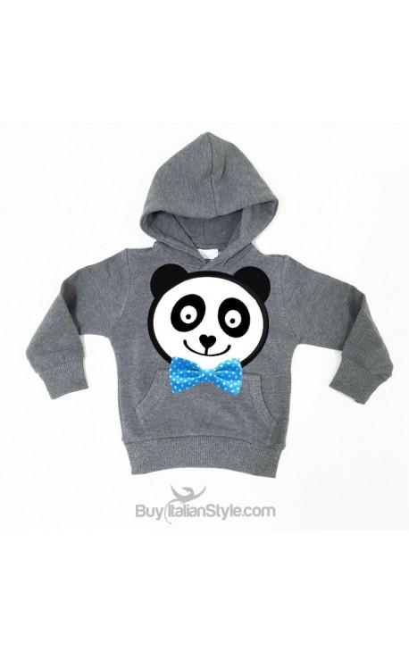 Felpa maschietto PANDA