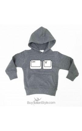 "Baby boy/girl Sweatshirt ""Ctrl + v"""