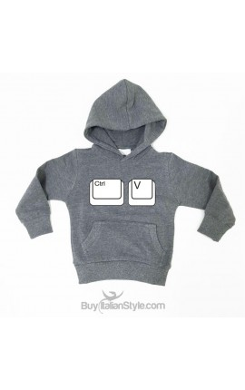 "Baby boy/girl Sweatshirt ""Ctrl + v"""