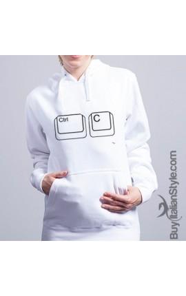 """Hooded Sweatshirt- """"Ctrl + c"""""""