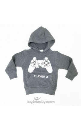 "Baby sweatshirt ""Player 2"""
