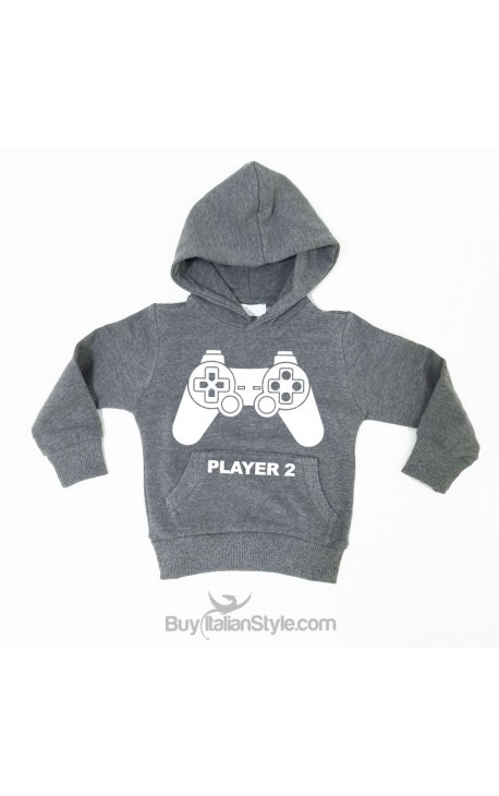 "Baby sweatshirt ""Player 2"""