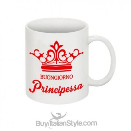 """Mug """"Good morning Princess"""""""