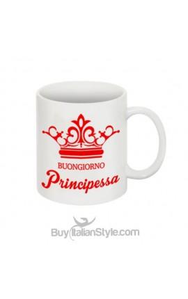 """Tazza """"Buongiorno Principessa"""""""
