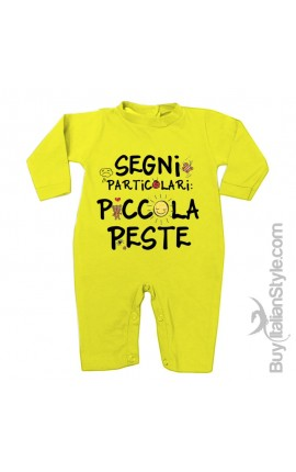 """Tutina neonato """"Piccola peste"""""""
