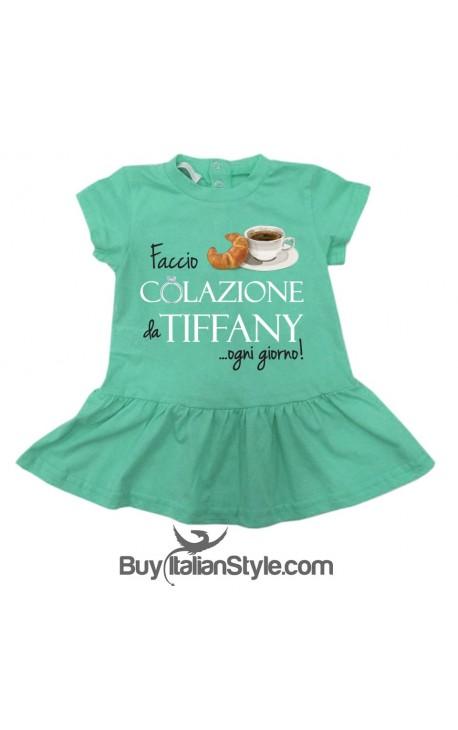 """Abitino neonata """"Colazione da Tiffany"""""""