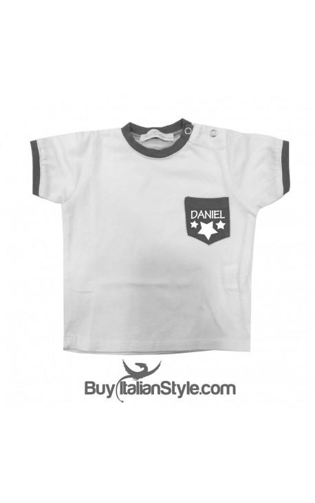 T-shirt con taschino PERSONALIZZATA