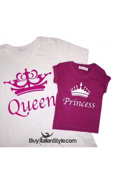"""T-shirt Donna """"Queen"""""""