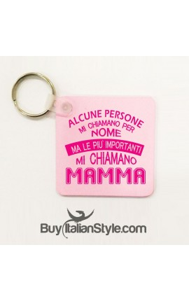 "Keychain ""call me Mom"""
