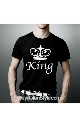 "T-shirt Uomo ""King"""