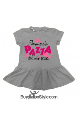 "Baby girl dress ""I'm crazy in love with my dad"""