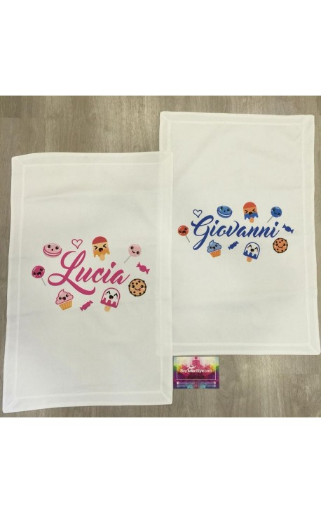Customizable summer blanket with Cup cake