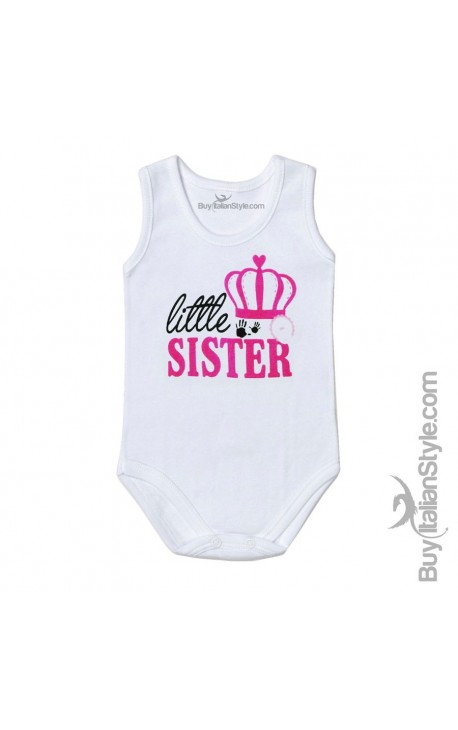 "Bodysuit bimba ""Little Sister"""